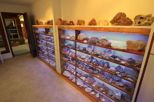 Minerals Display