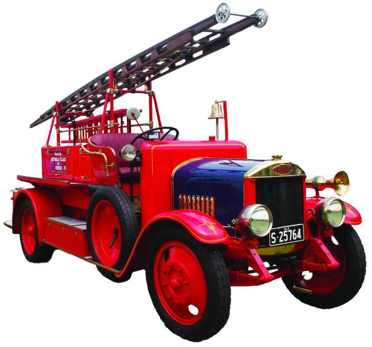 Dennis Fire Enginemod
